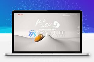 【织梦】高端响应式创意滚屏网络设计建站公司网站模板