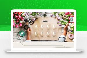 【织梦】响应式园林花卉类网站织梦模板(自适应手机端)利于SEO优化